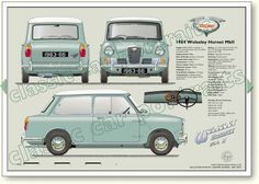 Vintage Racing, Vintage Cars, Classic Trucks, Classic Cars, Blueprint Drawing, British Sports Cars, British Car, Automobile, Car Brochure