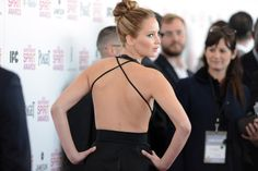 Jennifer Lawrence from behind