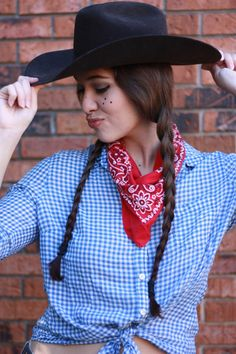 33 diy country girl costumes cowgirl costume costumes and halloween costume ideas solutioingenieria Choice Image