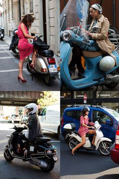 If You're Thinking About….Scooters « The Sartorialist