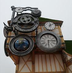 Gli orologi di babbo Natale a Venaria Reale Piemonte Italy