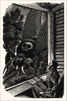 TALES OF EDGAR ALLAN POE  ILLUSTRATOR FRITZ EICHENBERG, 1944