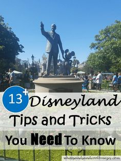 Excited for your first time to Disneyland? Then check out these 13+ Disneyland tips and tricks you need to know, including Disneyland tips with toddlers! #familytravel #Disneyland #toddlers