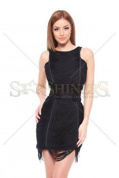 Ana Radu Ready To Party Black Dress