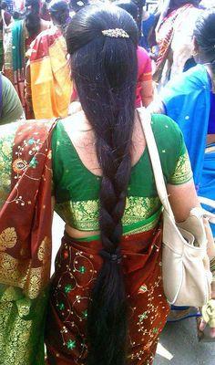 Indian Hair Cuts, Indian Long Hair Braid, Long Hair Ponytail, Braids For Long Hair, Braid Hair, Beautiful Braids, Beautiful Long Hair, Indian Hairstyles, Girl Hairstyles
