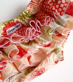 Georgie Girl ruffled nappy cover, lucky enough to own this one