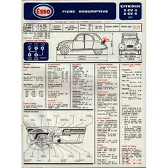 Citroen 2CV 4 6 - 1971 p1 - Plan de Graissage