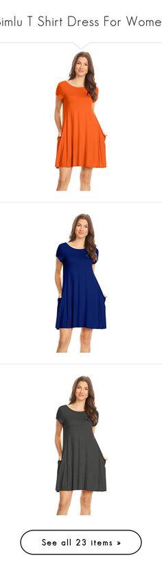 """Simlu T Shirt Dress For Women"" by simlu-clothing on Polyvore"