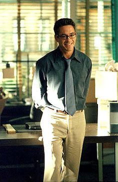 As Larry Paul. Ally McBeal.  I officially love him in this character. You can't even tell he was on drugs then! Lol