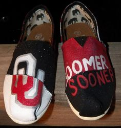 OU Sooners Toms
