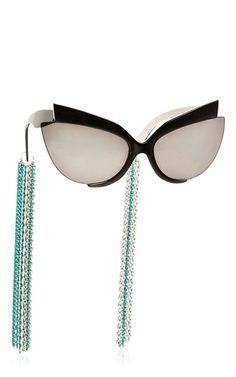 Chain Sunglasses by ALEXANDER ARUTYUNOV for Preorder on Moda Operandi