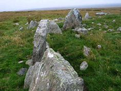 Stones of Steinacleit, Lewis, Western Isles, Scotland (J. Demetrescu 2007)