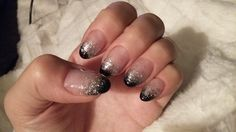 Gelnails for New Year party! Done by Kati Pakkanen.