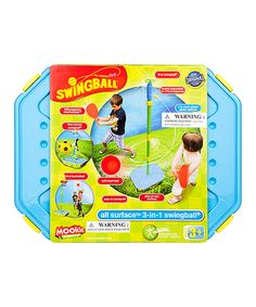 Look what I found on #zulily! Swingball 3-in-1 Game Set by National Sporting Goods #zulilyfinds