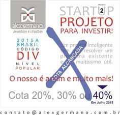 Investimento fechado. Previsão de lançamento janeiro 2016