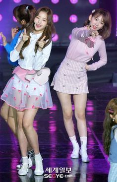 Jang Wooyoung, Cute Asian Girls, Stage Outfits, Kpop Girls, Girl Group, Skater Skirt, Cosplay, Purple, Idol