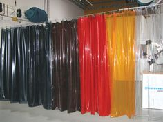 Nederman welding curtains | Etra - Your industrial partner Strip Curtains, Plastic Curtains, Welding Equipment, Design Research, Surface Finish, Scenic Design, Recycled Furniture, Stage Design, Custom Items