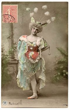 vintage french circus costumes - Google Search