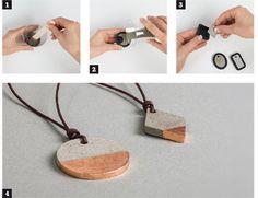 Bijoux en béton - Savoir et créer