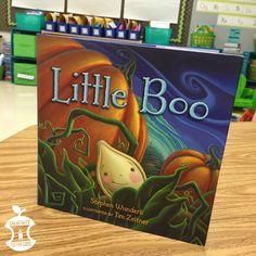 Little Boo Lesson Plan Ideas for a pumpkin life cycles unit