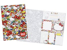 Hello Kitty Fun Pattern sticky notes