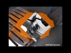 Welding split sprocket