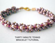 Tutorial: Star Flower Bracelet & Earrings  Bead Weaving