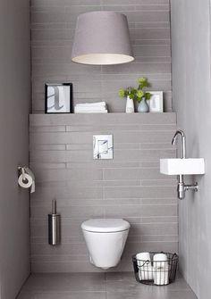 20 ideas de decoración para baños modernos pequeños 2