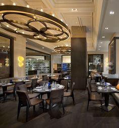 Amazing lighting @Blumenthal in London restaurant called Dinner