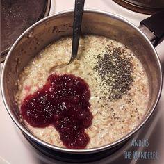 Anders The Wanderer: Just porridge please 🌿🙋