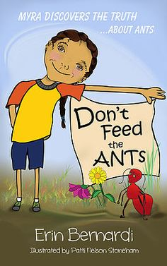 """This is the book cover for """"Don't Feed the ANTs"""". It shows Myra, the main character in the book, which is available in both eBook and printed formats at Amazon."""