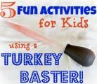 Crafty Mom: Five fun activities for kids using a turkey baster :: WRAL.com