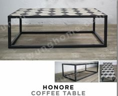 Table basse honore en marqueterie #schwunghome #deco #design