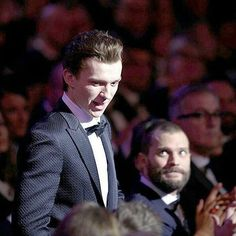[NEW] Tom at the BAFTA Awards! — I was hoping that Tom and Jamie Dornan met on the BAFTAs but unfortunately, they didn't. But at least I got this pic and I'm honestly freaking out. @tomholland2013 | #tomholland