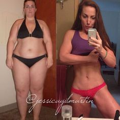 Jessica Gilmartin - single mother & full time career lost over 100 pounds!!! AMAZING fitness inspiration!