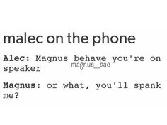 Alec probably would tho tbh