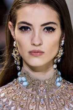 Camille Hurel // Elie Saab Spring 2017 Couture