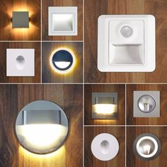 Details Zu LED Treppenbeleuchtung Wandbeleuchtung Nachtlicht Treppenlicht Einbauspot Dezent