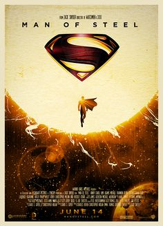 Man of Steel – Superman – Movie Poster Design by Niel Quisaba Superman Man Of Steel, Batman And Superman, Superman Poster, Spiderman, Comic Books Art, Comic Art, Final Fantasy, Univers Dc, Alternative Movie Posters
