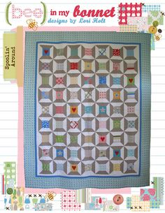 Spoolin' Around Pattern,from Bee in my Bonnet!