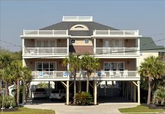 SEA BUBBLE: Luxurious Ocean View, 2nd Row Beach Home, with private POOL & Hot Tub!! (Side A) offers an easy walk just across the street to the beach, and ocean views from two of three spacious balconies! This roomy, ...