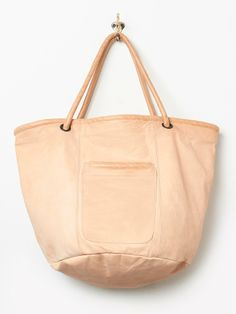 All Hands Leather Sailor Tote