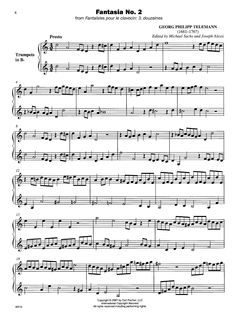 Fantasia No. 2 trumpet duet - Google Search