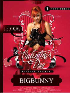 22 best 22 awesome valentine s day flyer template designs images on