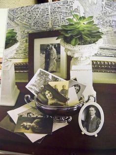 A Stroll Thru Life: Decorating with Family Photos