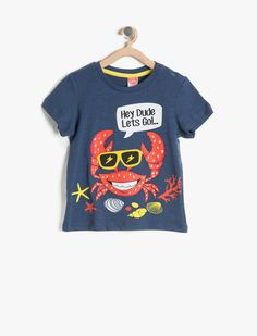 İndigo Erkek Çocuk Baskılı T-Shirt 7YMB16033OK740 | Koton