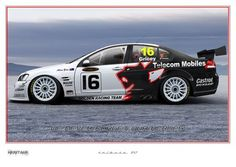 Print 31 photo by Velocemoto Police Cars, Race Cars, Australian V8 Supercars, Car Prints, Indy Cars, Racing Team, Old Trucks, Cars And Motorcycles, Rally