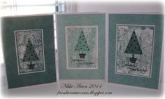 Stampin up christmas cards. Festival of trees endless wishes lost lagoon