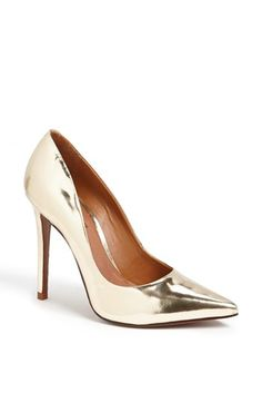 Schutz 'Gilberta' Pointy Toe Pump at #Nordstrom Perfect for the Holiday season!!