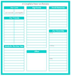 Free Relationship Worksheets for Couples